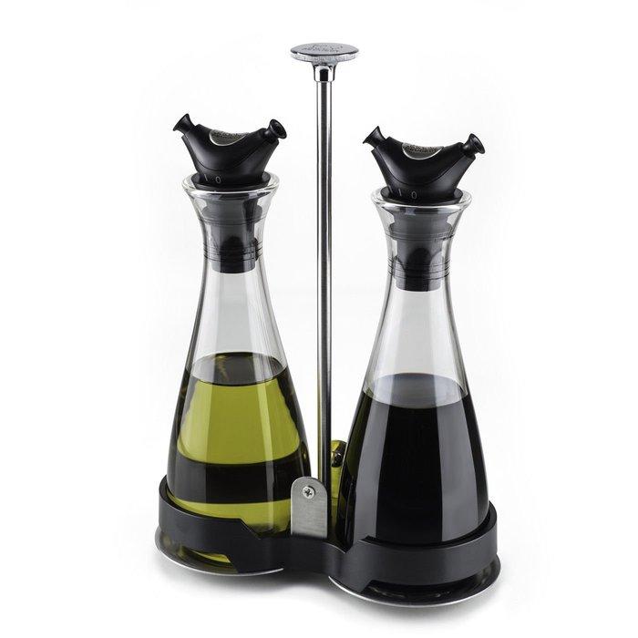 法國 Peugeot 37031 Balsam 油醋罐組 調味罐 附托盤 攜帶式
