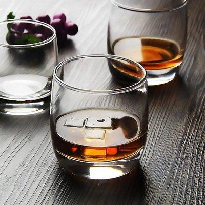 樂美雅弓箭6隻裝圓形威士忌酒杯洋酒杯玻璃杯啤酒杯烈酒杯水杯yi   全館免運