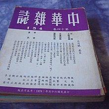 藍色小館8--------65年.中華雜誌{154期}