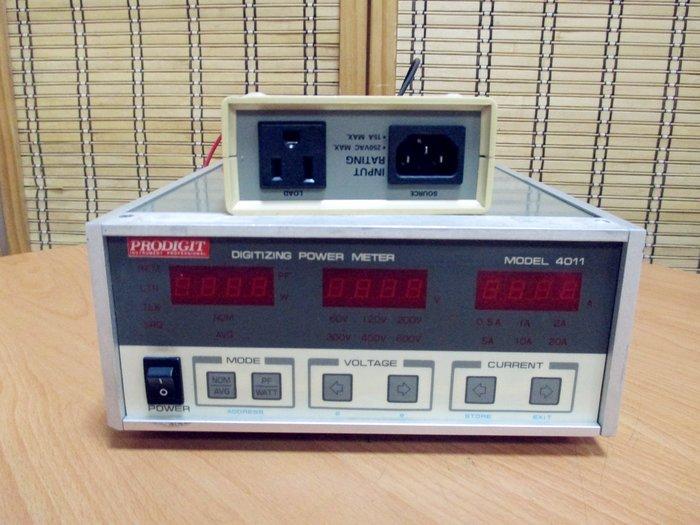 康榮科技二手儀器領導廠商Prodigit 4011 600V/20A/12000W Power Meter