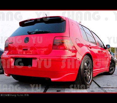 福斯 VW Volkswagen GOLF4 後下巴 套件