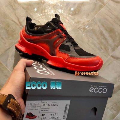 正貨ECCO BIOM C-TRAIL LOW GTX 縱橫越野戶外鞋 男士運動鞋 休閒鞋健步鞋 科技緩震 803114