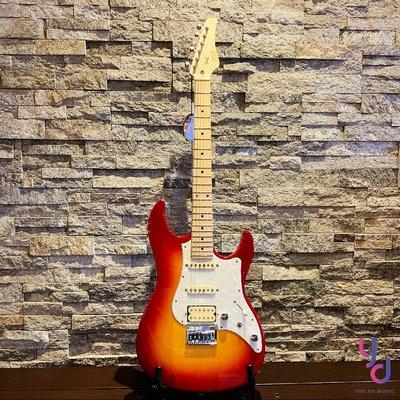 現貨免運 贈千元配件 日本製造 Fujigen Boundary BOS-M 櫻桃漸層 富士弦 FGN 高階 電 吉他