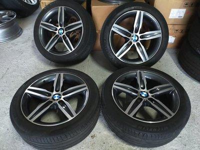 BMW F20 F22 原廠379 17吋鋁圈含胎.E36 E46 E87 E82 F20 F22..