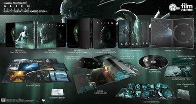 毛毛小舖--藍光BD 異形:聖約 全紙盒幻彩限量鐵盒版(中文字幕) Alien: Covenant