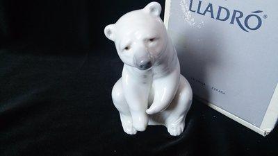 ❃A&EJ Studio❃西班牙 LLADRO 北極熊 編號#1208 issued 1972 附原裝盒【一級品】