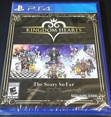 全新 PS4 王國之心 系列作合輯 迄今為止的故事 The Story So Far 英文版