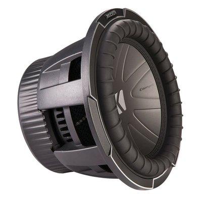 "【MEIGO美購】Kicker 42CWQ102 10""CompQ重低音揚聲器帶雙2歐姆音圈 New"