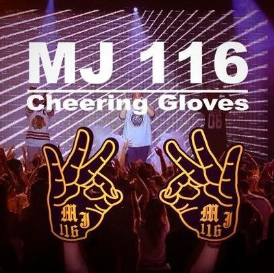 【EDC.COM】MJ FRESH MJ116 Cheering Gloves - 頑童專屬加油手套