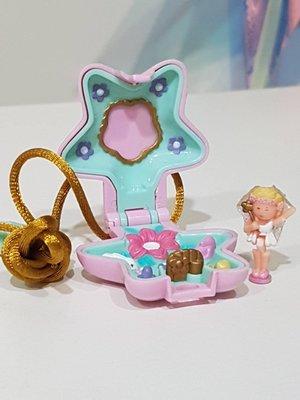 Polly Pocket 1992 口袋芭比 口袋芭莉 -- Fairy Garden Locket 仙女花園吊飾/項鍊