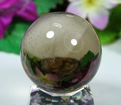 孟宸水晶 = A9024  (100%天然超清透茶水晶球184克)