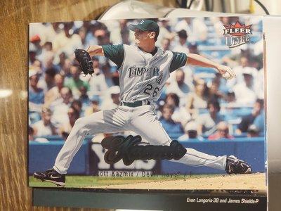 (記得小舖)MLB 2007 Scott Kazmir 坦帕灣光芒 普卡1張