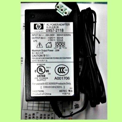 5Cgo【權宇】HP 印表機用電源 F370 32V 563mA 0957-2118 0957-211 含稅 會員扣5%