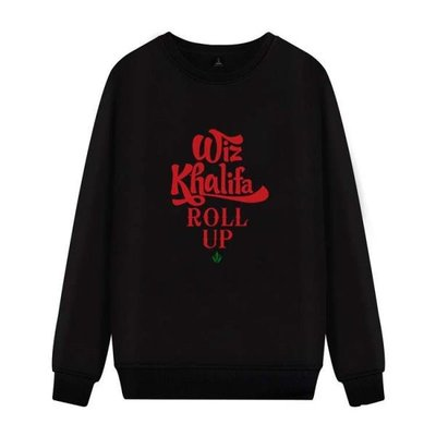 西海岸rap饒舌說唱歌手男女學生長袖圓領薄款衛衣韓版秋季衣服潮 wmqp