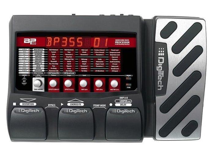 ☆ 唐尼樂器︵☆全新 Digitech BP355 Bass 地板型 綜合 效果器