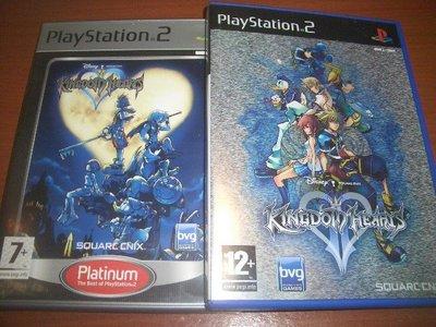 PS2 王國之心2 Kingdom Hearts II & 王國之心1 歐美版 ~英文發音 英文字幕