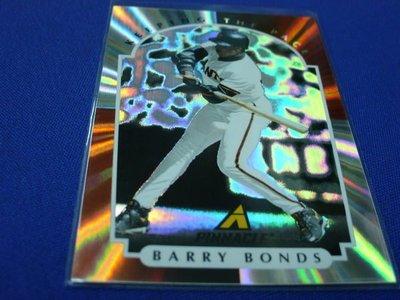 阿克漫358-2~MLB-1997年New Pinnacle特卡Barry Bonds只有一張