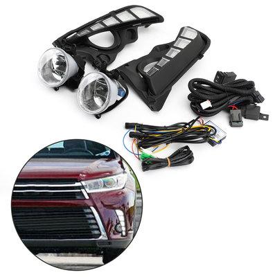 Toyota Highlander 2017-2019 LED DRL日間行車霧燈線束組-極限超快感