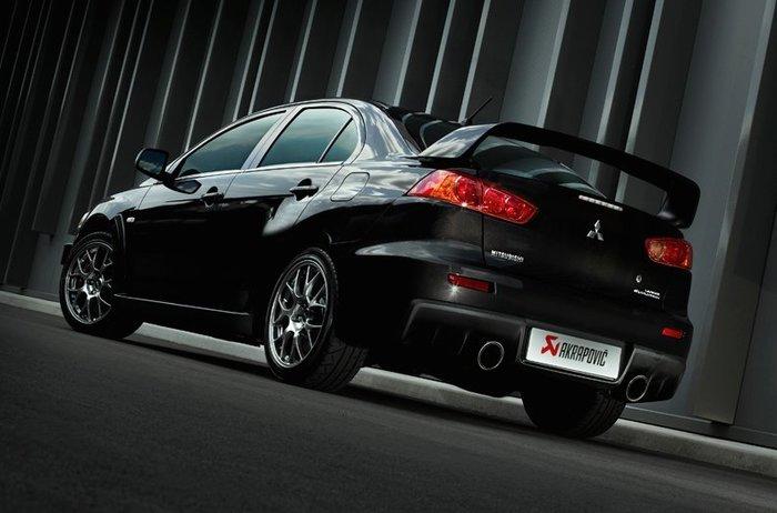 【樂駒】Akrapovic 蠍子 排氣 系統 Mitsubishi Lancer Evo X 排氣管 改裝 套件 精品