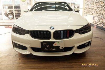 Dr. Color 玩色專業汽車包膜 BMW 420i 車燈保護膜