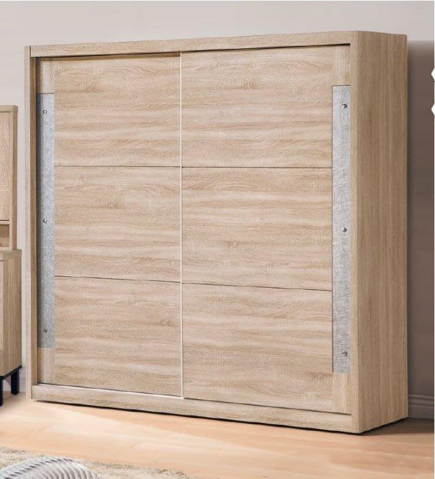 【DH】商品貨號V32-5商品名稱多納6尺推們衣櫃(圖一)木心板/台灣製/可訂做/另計。主要地區免運費