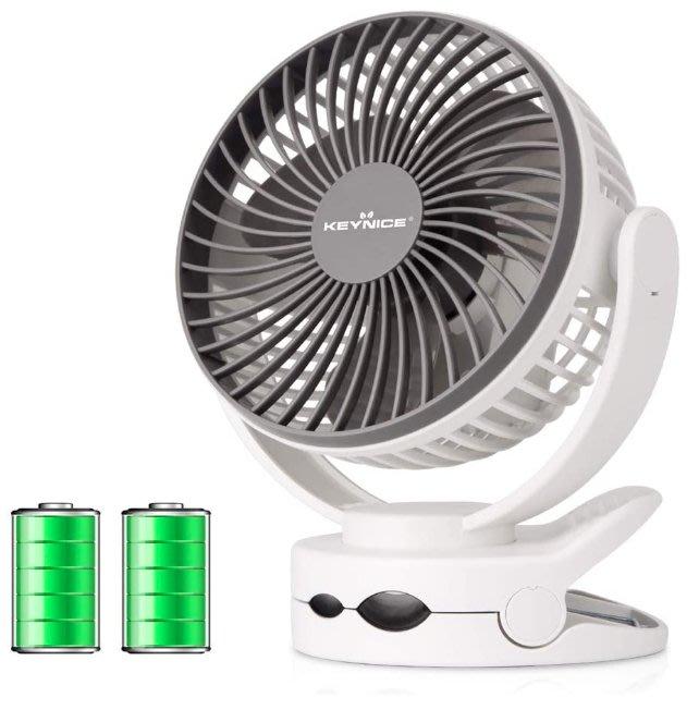 《FOS》日本 KEYNICE 迷你 風扇 USB充電 桌扇 辦公室 嬰兒推車 車用 攜帶型 夏天 消暑 熱銷 新款