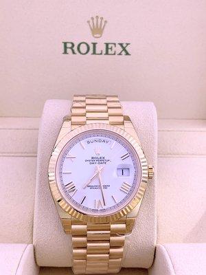 Rolex Day-Date 228238 (白面羅馬字) (40mm)