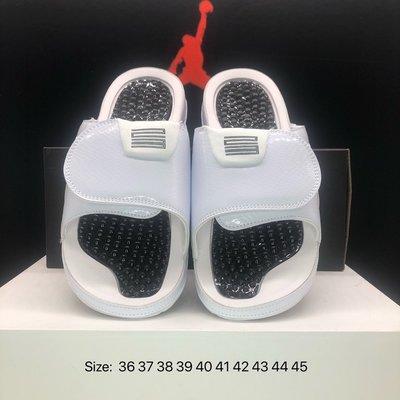 Air Jordan Hydro 11 Retro Concord 魔術扣 白色 情侶款 拖鞋 涼鞋 aj11 運動拖鞋