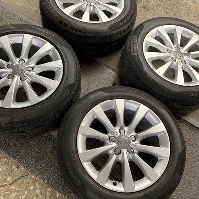 中古圏 AUDI A5 原廠17吋鋁圈 5X112 AUDI VW A6 A4