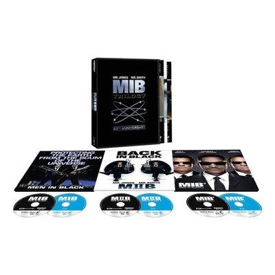 BD 全新美版【MIB星際戰警 1 2 3 合輯】Blu-ray 4K藍光 UHD + BD