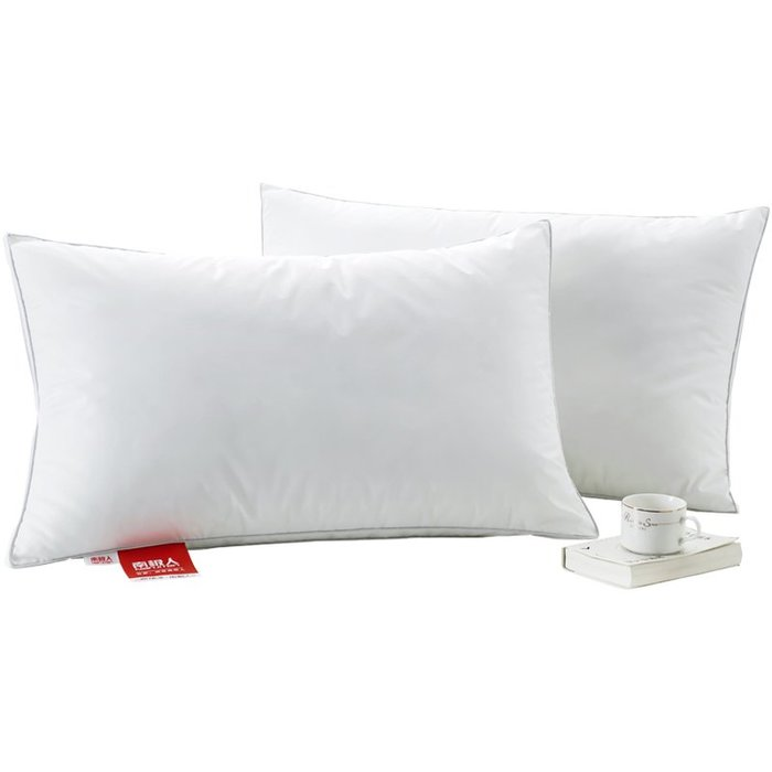 預售款-LKQJD-全棉枕頭枕芯酒店單人雙人宿舍男護頸椎整頭一對裝成人家用