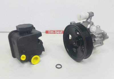 BENZ W202 M112 128 bar 98-00 方向機泵浦+油壺+油壺墊圈 (套餐組) 0024668601
