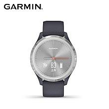 【桃園幸運草】*含稅**附發票* GARMIN vivomove 3s 指針智慧腕錶 岩藍冷霜銀