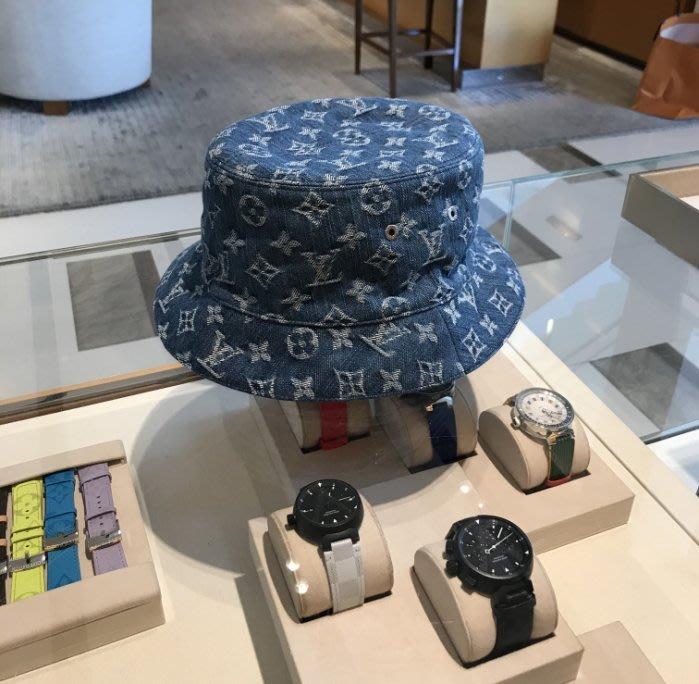 Louis Vuitton M76587 Monogram Hat 老花漁夫帽 牛仔藍