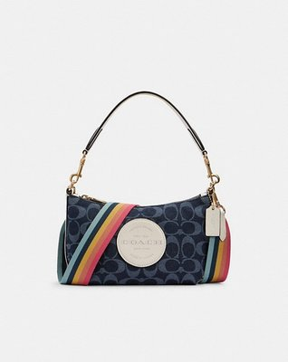 Coach Natural pebble leather Inside multifunction pocket Zip