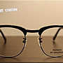 美國製 Shuron Ronsir Zyl 光學鏡框 黑邊 50-20