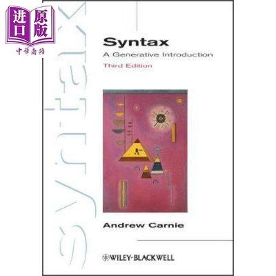 Syntax: A Generative Introduction, 3rd Edition 英文原版 語法:衍生導言(