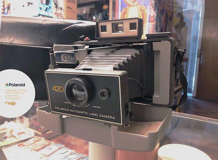 ArtLife @ Polaroid 420 LAND CAMERA Vintage 拍立得 老相機 蛇腹相機