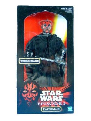 金錢貓雜貨~ 全新 Star Wars 星際大戰 12吋 DARTH MAUL BATTLE DROID 達斯魔