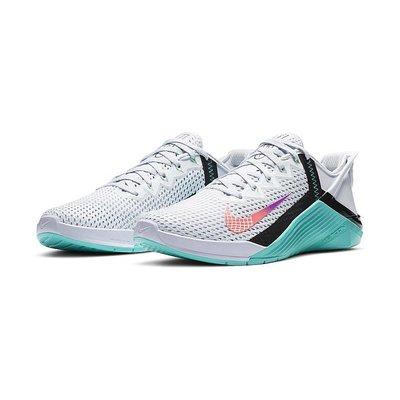 南◇2020 9月 Nike Metcon 6 Flyease Db3794-020 重訓健身 訓練瑜珈 運動女鞋 白綠