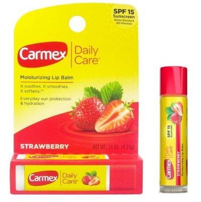 【蘇菲的美國小舖】Carmex超保濕硬管護唇膏 草莓 護脣膏 特價