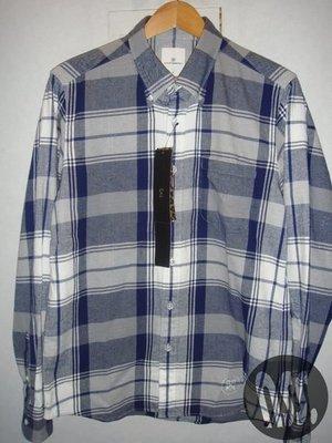 特價【NSS】uniform experiment FLANNEL BIG CHECK B.D SHIRT 格紋襯衫L
