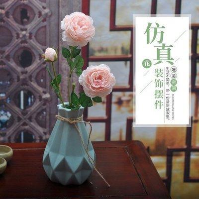☆☆☆假花絹花模擬牡丹花塑膠花客廳電視牆玄關櫃辦公洽談會議室擺放花(A款)-DDM
