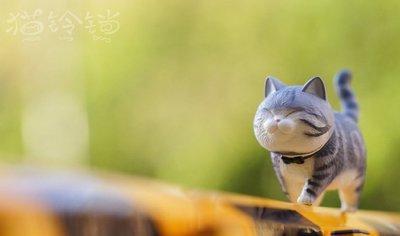 【QQ公仔物語】【AA111】【現貨】ACTOYS 不二馬大叔 貓鈴鐺 大花貓 12cm 單賣 灰花貓