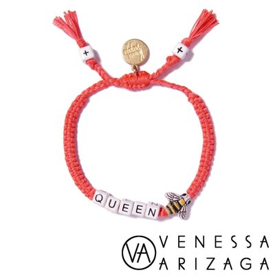 Venessa Arizaga QUEEN BEE 紅色手鍊 女王蜂