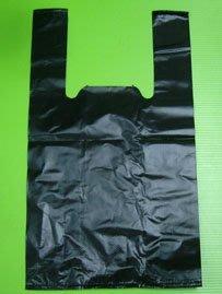 ≡☆包裝家專賣店☆≡包裝用品 素面 黑色 背心  塑膠袋 飾品袋 包裝袋1斤18.5*33*11.5 每包均100入