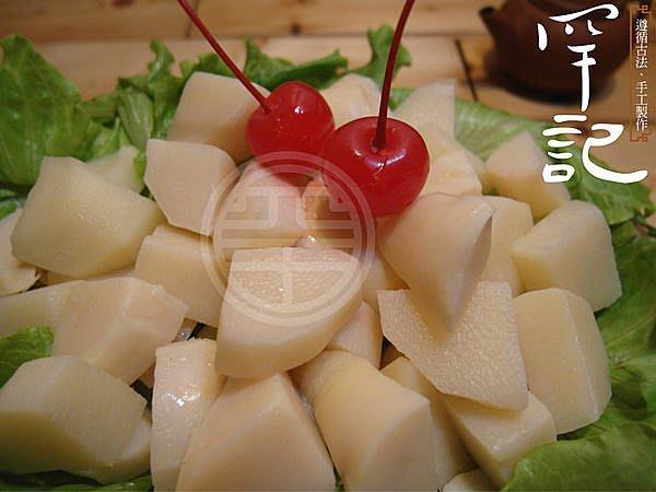 台南歸仁黃昏市場【罕記】鮮筍沙拉/上等熟綠竹筍 當日現採  歸仁特產 時價
