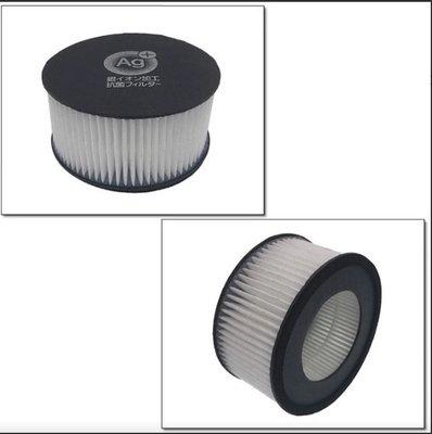 IRIS OHYAMA IC-FAC2 KIC-FAC2塵蟎吸塵器 銀離子空氣排氣濾網(CF-FHK2) 兩入除蟎機耗材