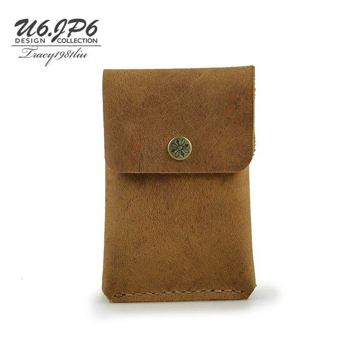 【U6.JP6 手工皮件】-純手工縫製 男女適用 / 萬用錢包 / 證件包