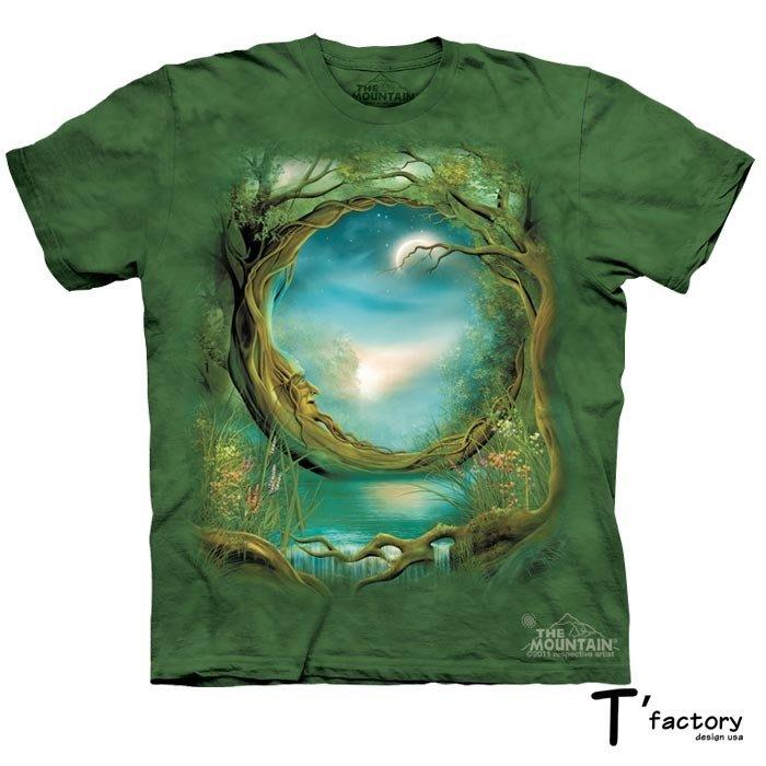 【線上體育】The Mountain 短袖T恤 M號 月亮樹